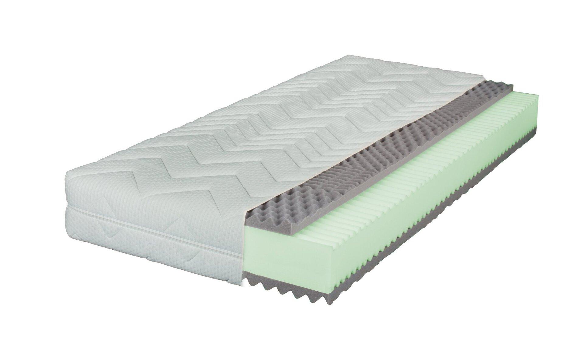 Kaltschaummatratze NARA LIV'IN LIV'IN Textil weiß 200 x 23 x 90 cm