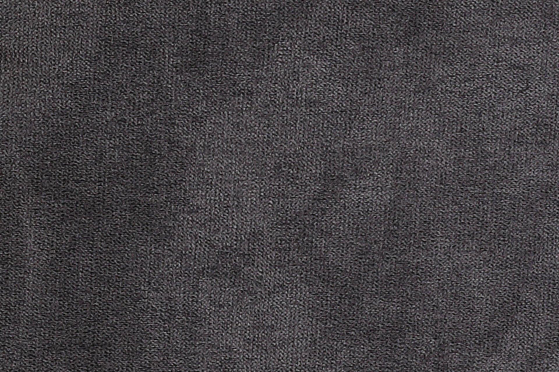 Sitzbank NENA I B Dinett Textil grau 60 x 94 x 140 cm
