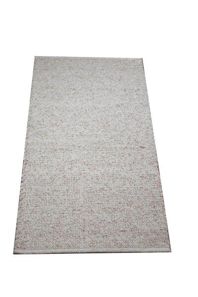 Handwebteppich Allgäuer Teppichmanufaktur Textil 1/01beige
