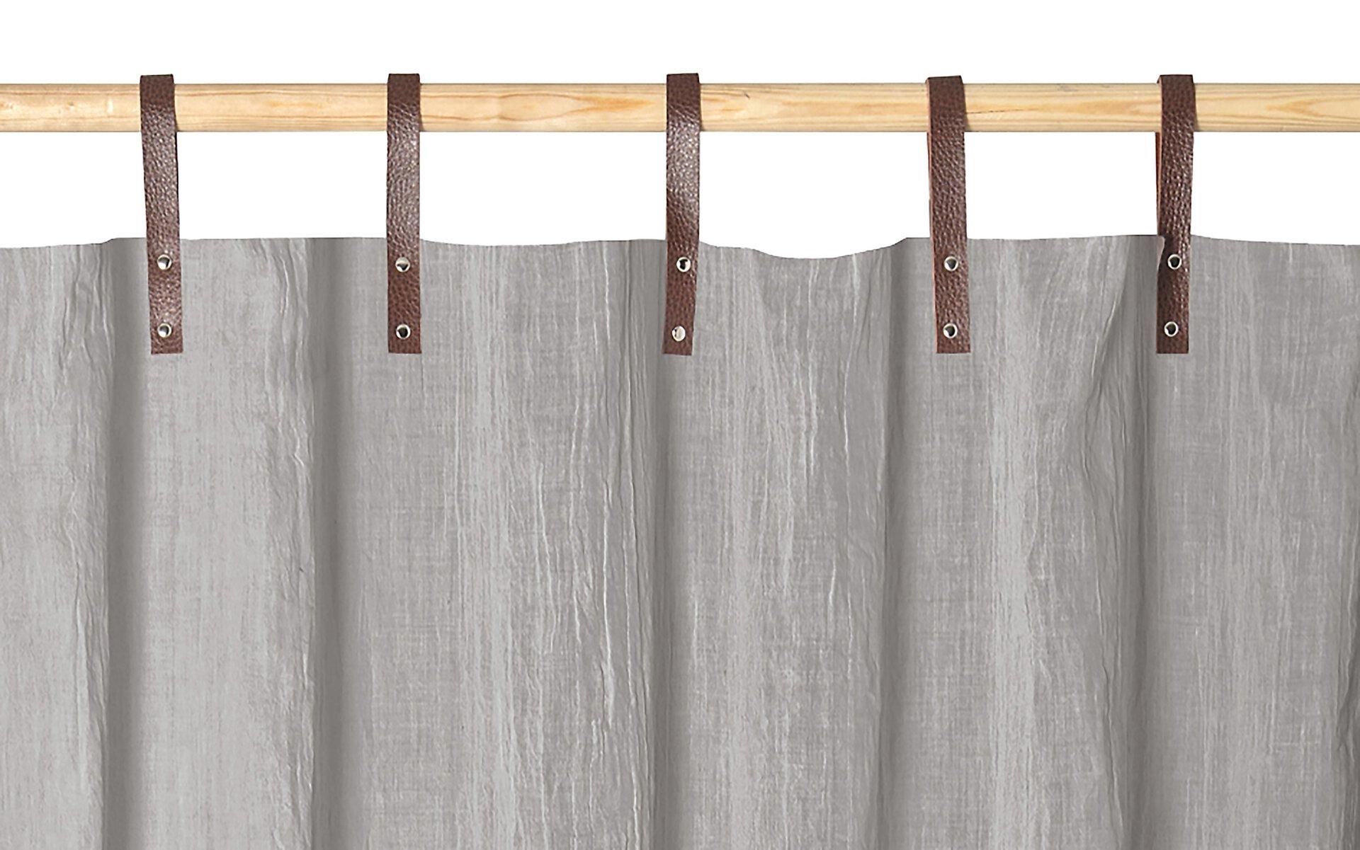 Schlaufenschal Evi Magma Textil silber 135 x 245 cm