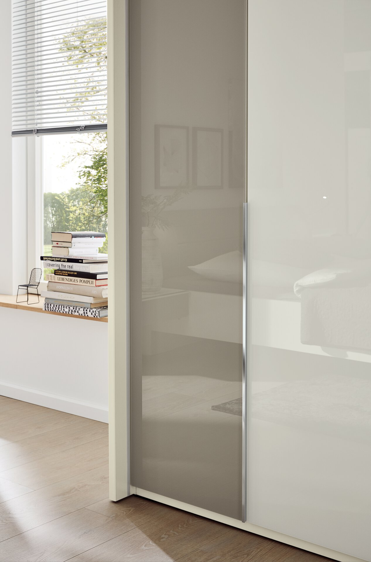 Schlafzimmer San Diego Musterring Holzwerkstoff grau 58 x 236 x 300 cm