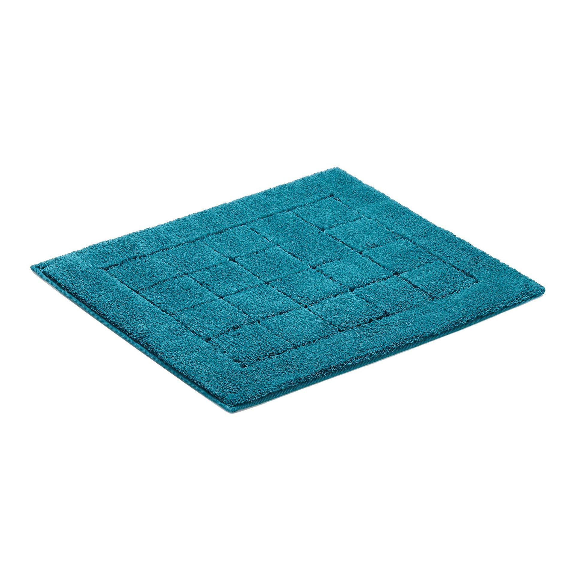 Badteppich Exclusive Vossen Textil Blau 55 x 65 cm