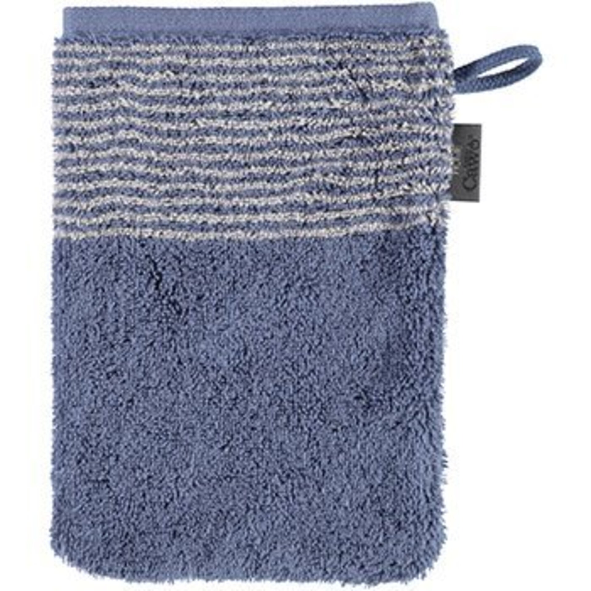 Waschhandschuh Two-Tone Cawö Textil 16 x 22 cm