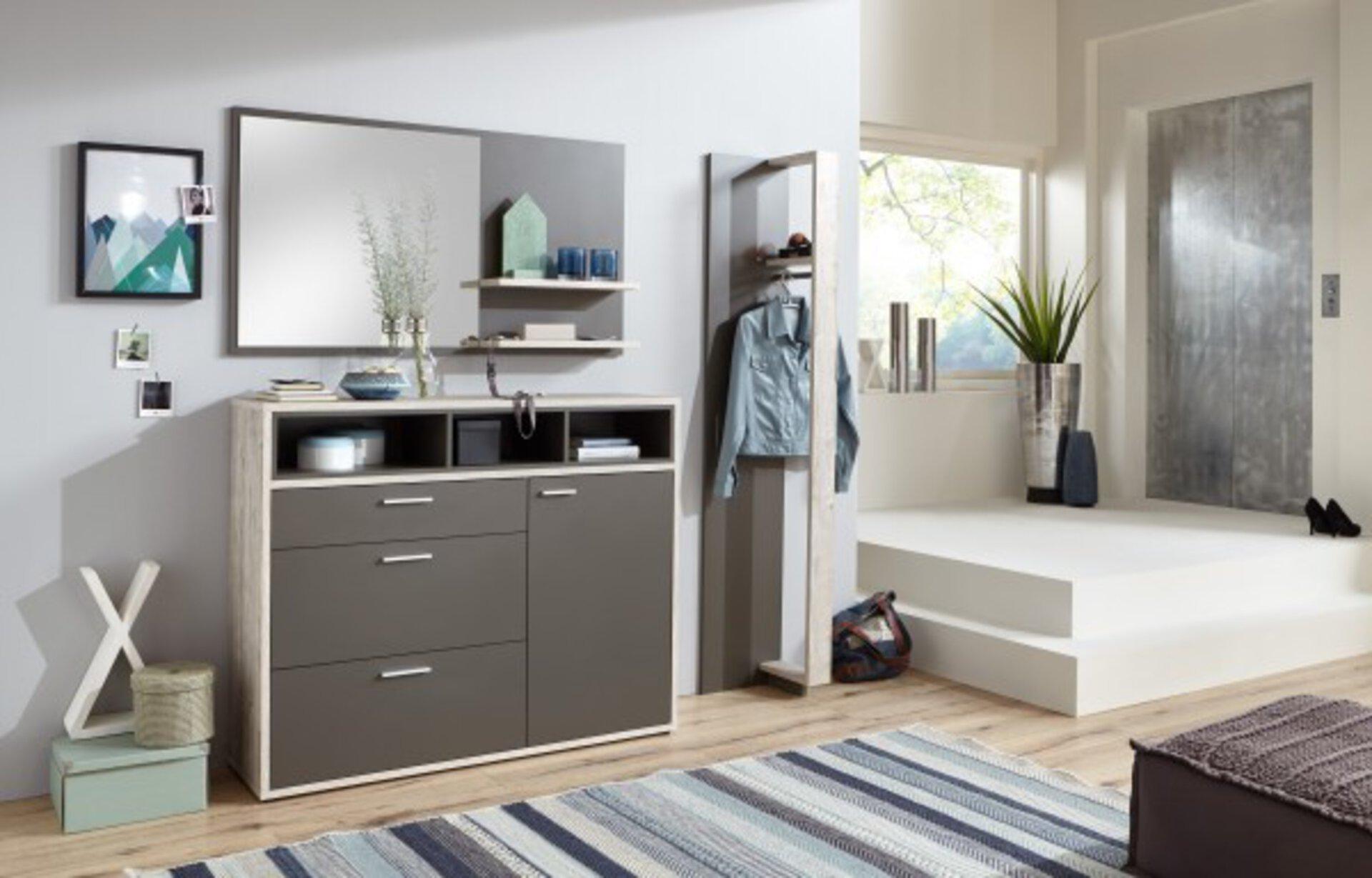 Spiegel inDoor Holzwerkstoff mehrfarbig 19 x 72 x 130 cm