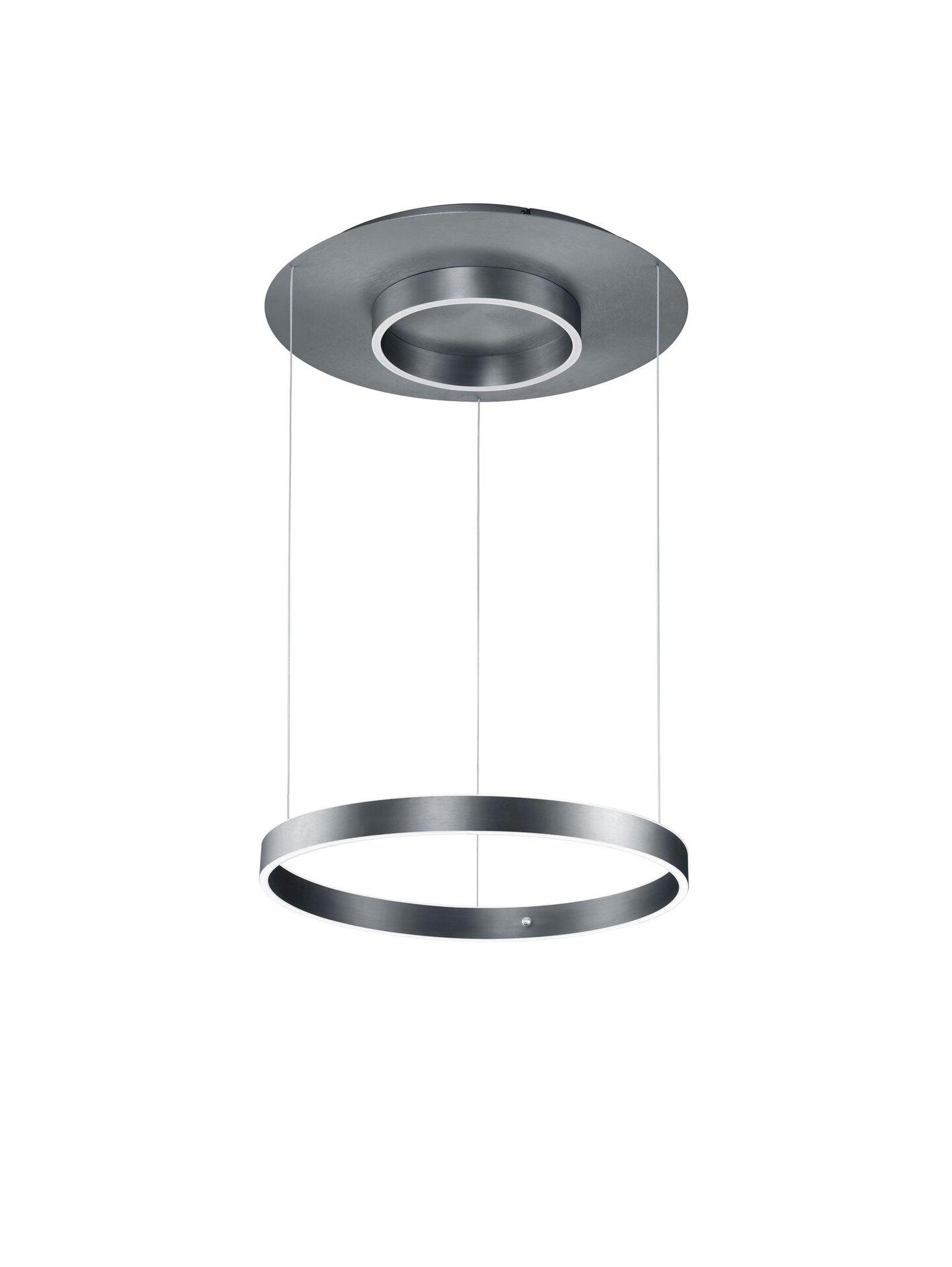 Hängeleuchte DELTA B-Leuchten Metall 60 x 150 x 60 cm