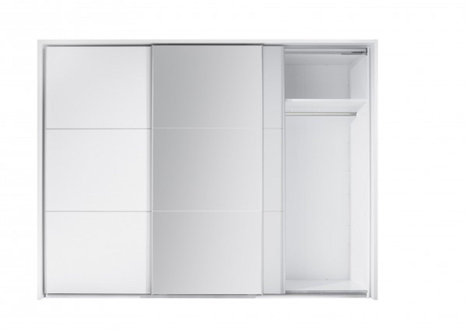 Schwebetürenschrank BRAVO Dreamoro Holzwerkstoff 60 x 210 x 270 cm