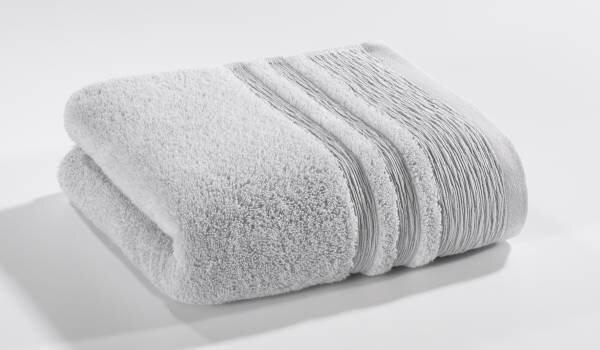 Handtuch Organic Kenborg Textil grau