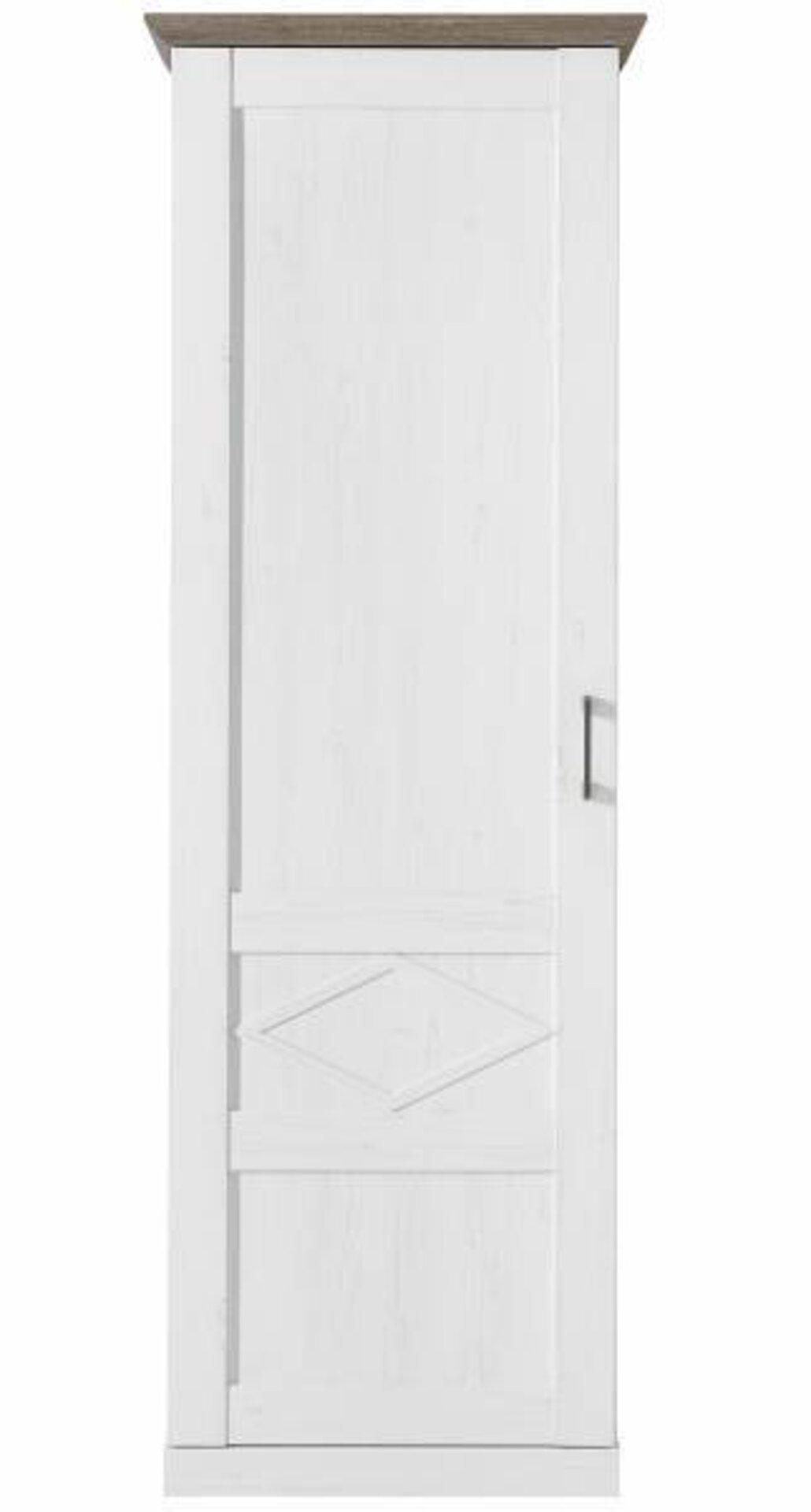 Garderobenschrank COUNTRY Vito Holzwerkstoff braun 42 x 200 x 68 cm