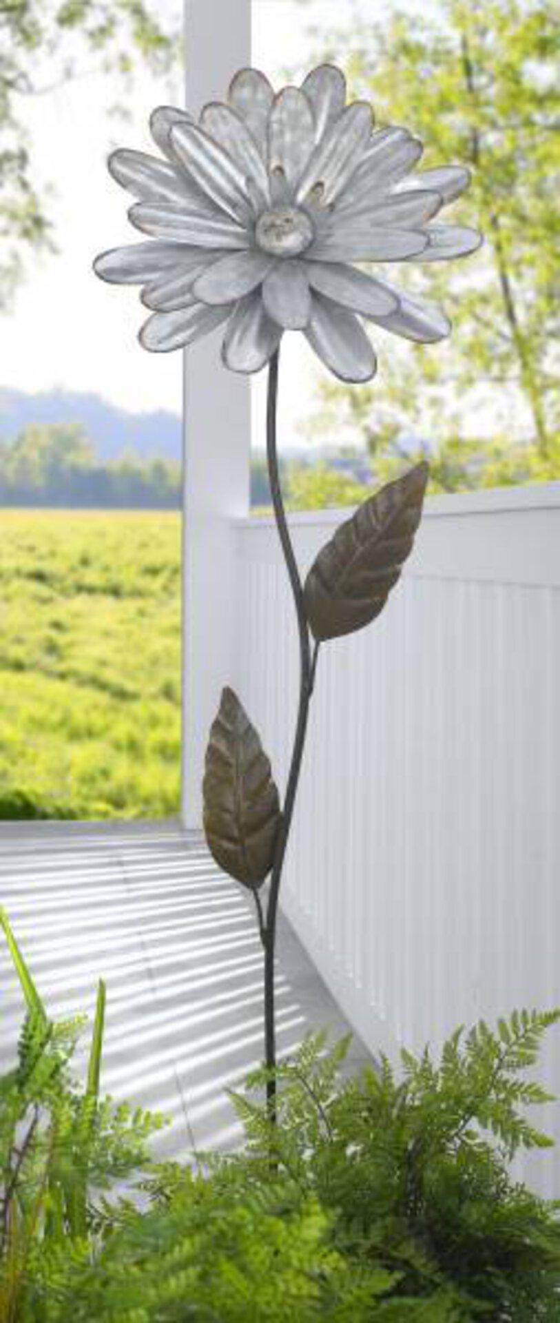 Gartendekoration 179907 Cottage Style by Casa Nova Casa Nova Metall silber