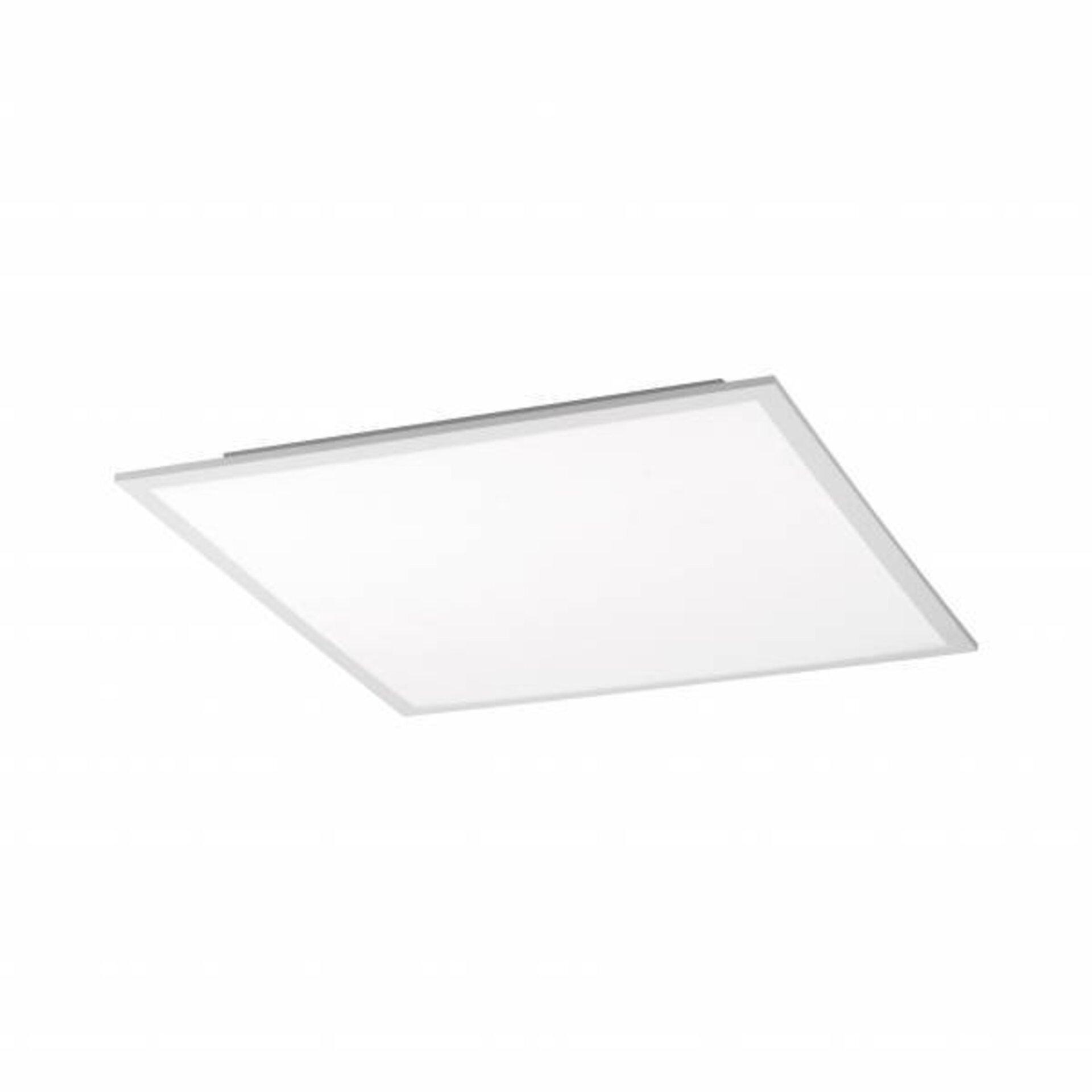 Deckenleuchte FLAT Leuchtendirekt Metall weiß 45 x 6 x 45 cm
