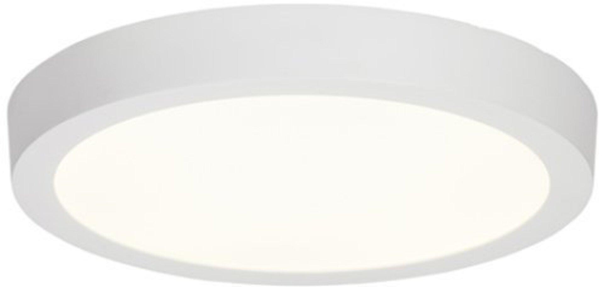 Deckenleuchte KATALINA Brilliant Metall weiß 29 x 4 x 29 cm