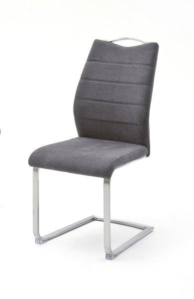 Freischwinger MCA furniture Metall, Textil Stoff anthrazit ca. 57 cm x 99 cm x 45 cm