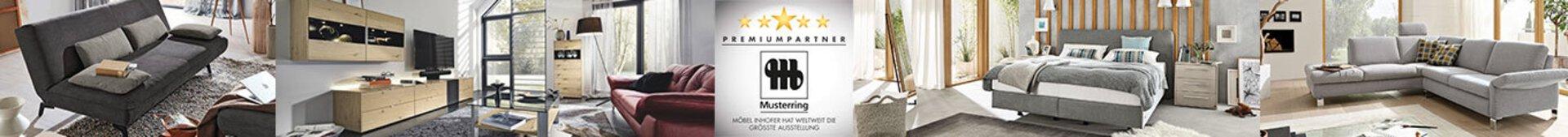 Bannerbild der Marke Musterring. Premiumpartner bei Möbel Inhofer.