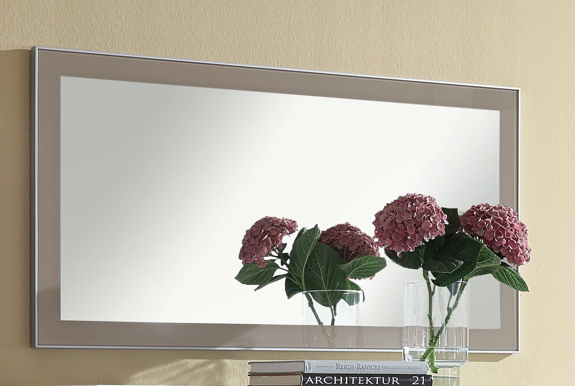 Spiegel SANTINA Voss Möbel Holzwerkstoff 60 x 120 cm