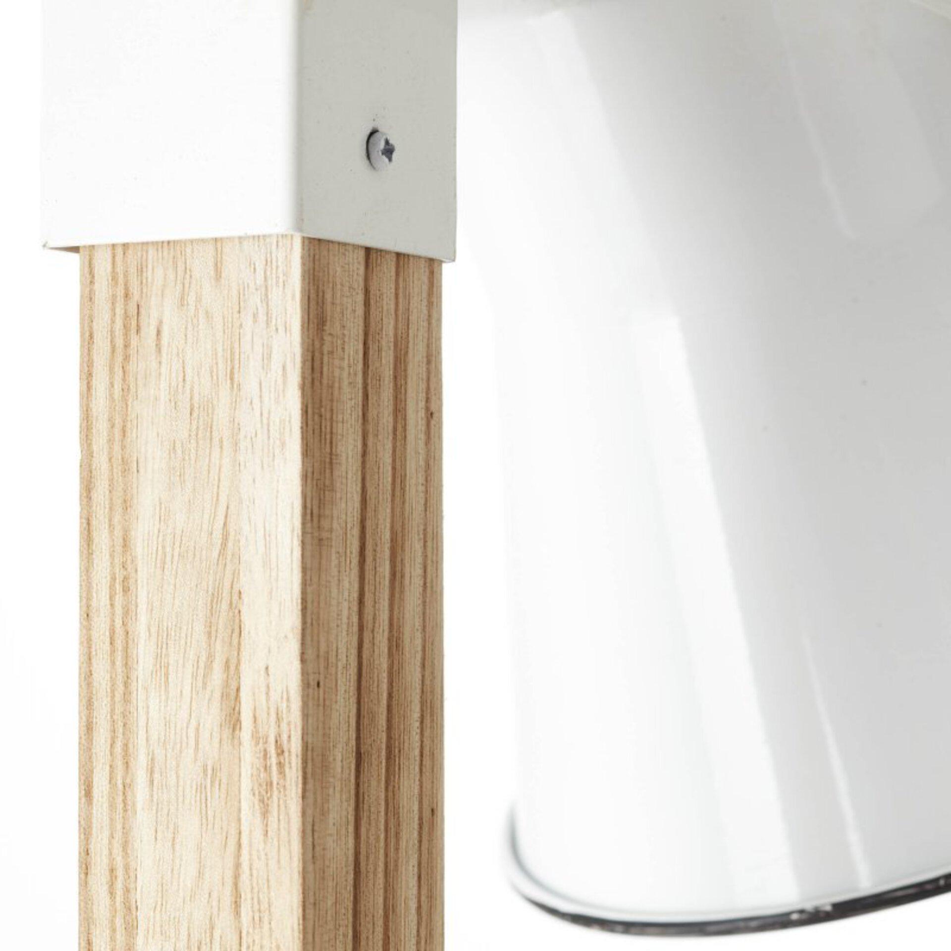 Stehleuchte PLOW Brilliant Holz 30 x 154 x 51 cm