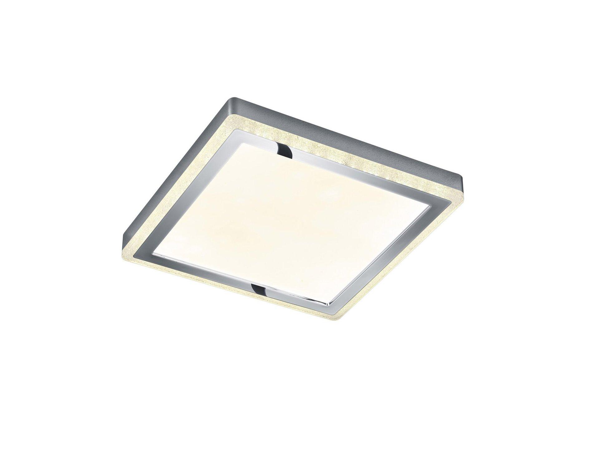 Deckenleuchte Slide Reality Leuchten Kunststoff 40 x 5 x 40 cm