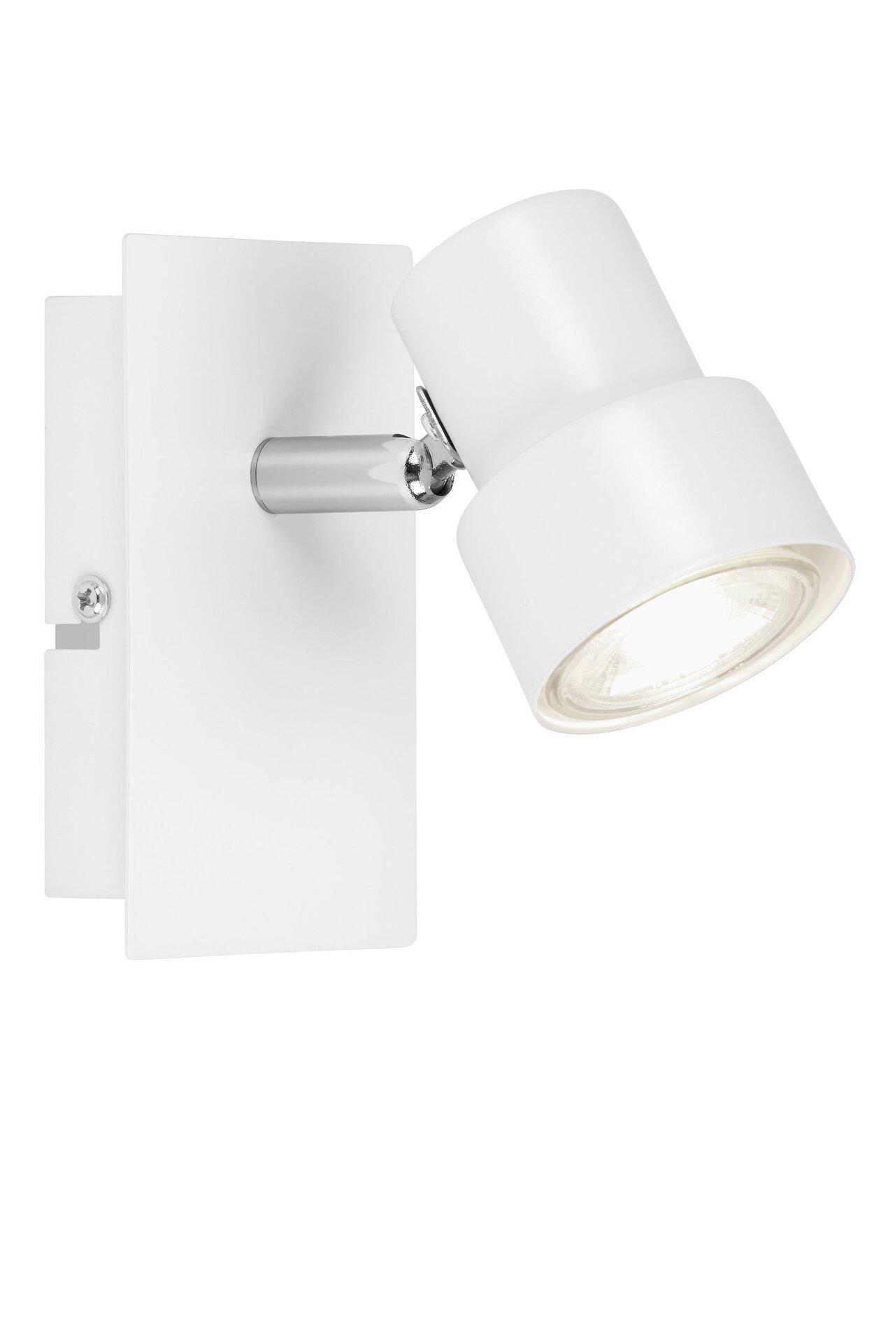 Strahler Spot White Briloner Metall weiß 8 x 12 x 12 cm