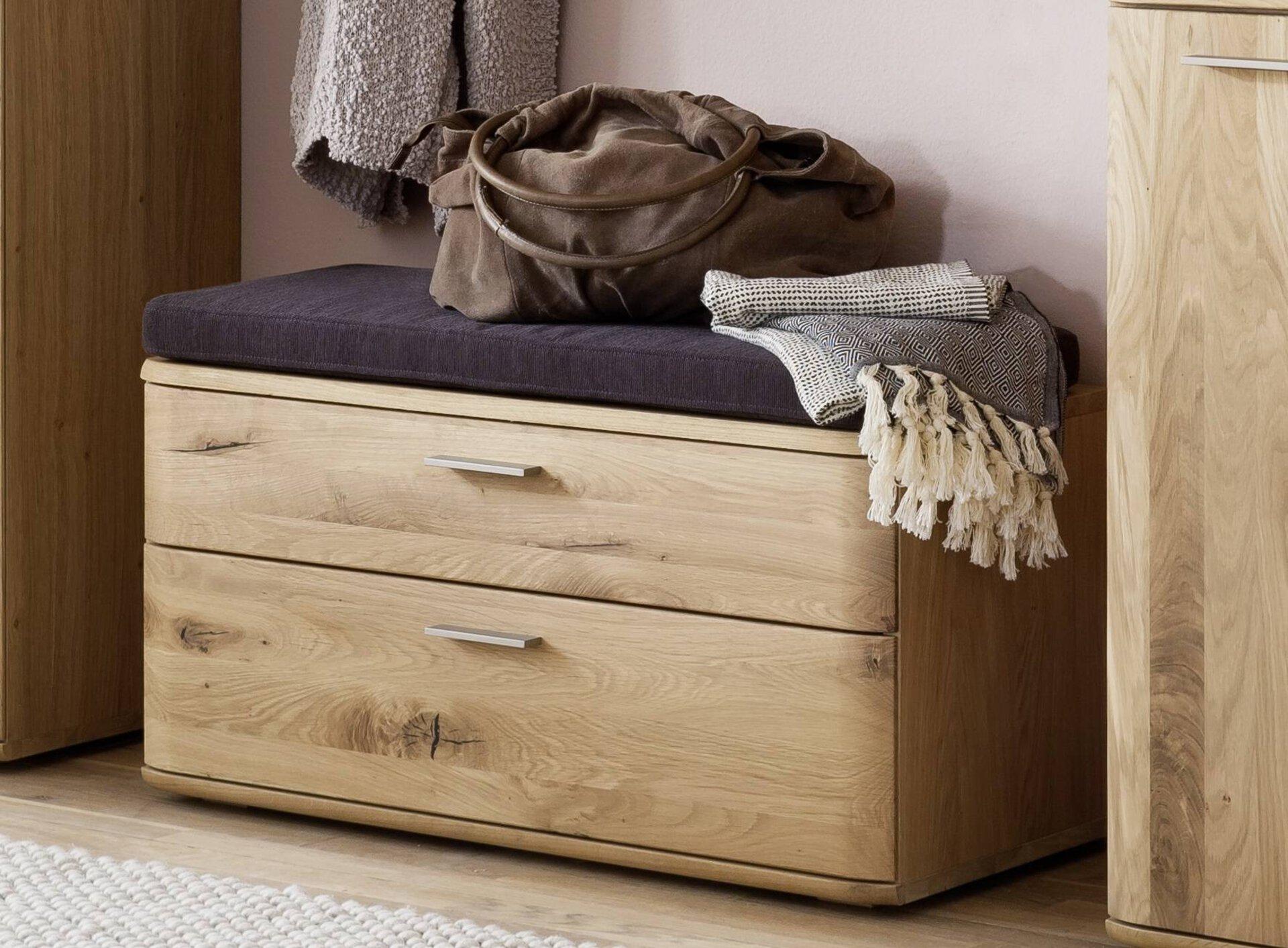 Garderobenbank NILO MCA furniture Holzwerkstoff 38 x 44 x 90 cm
