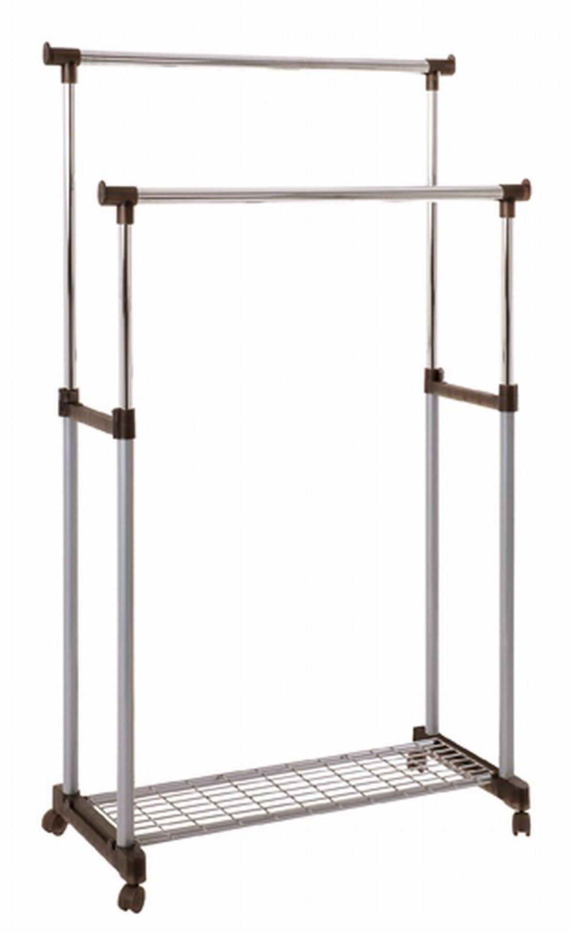 Kleiderständer DOUBLE inbuy Metall 43 x 95 x 95 cm