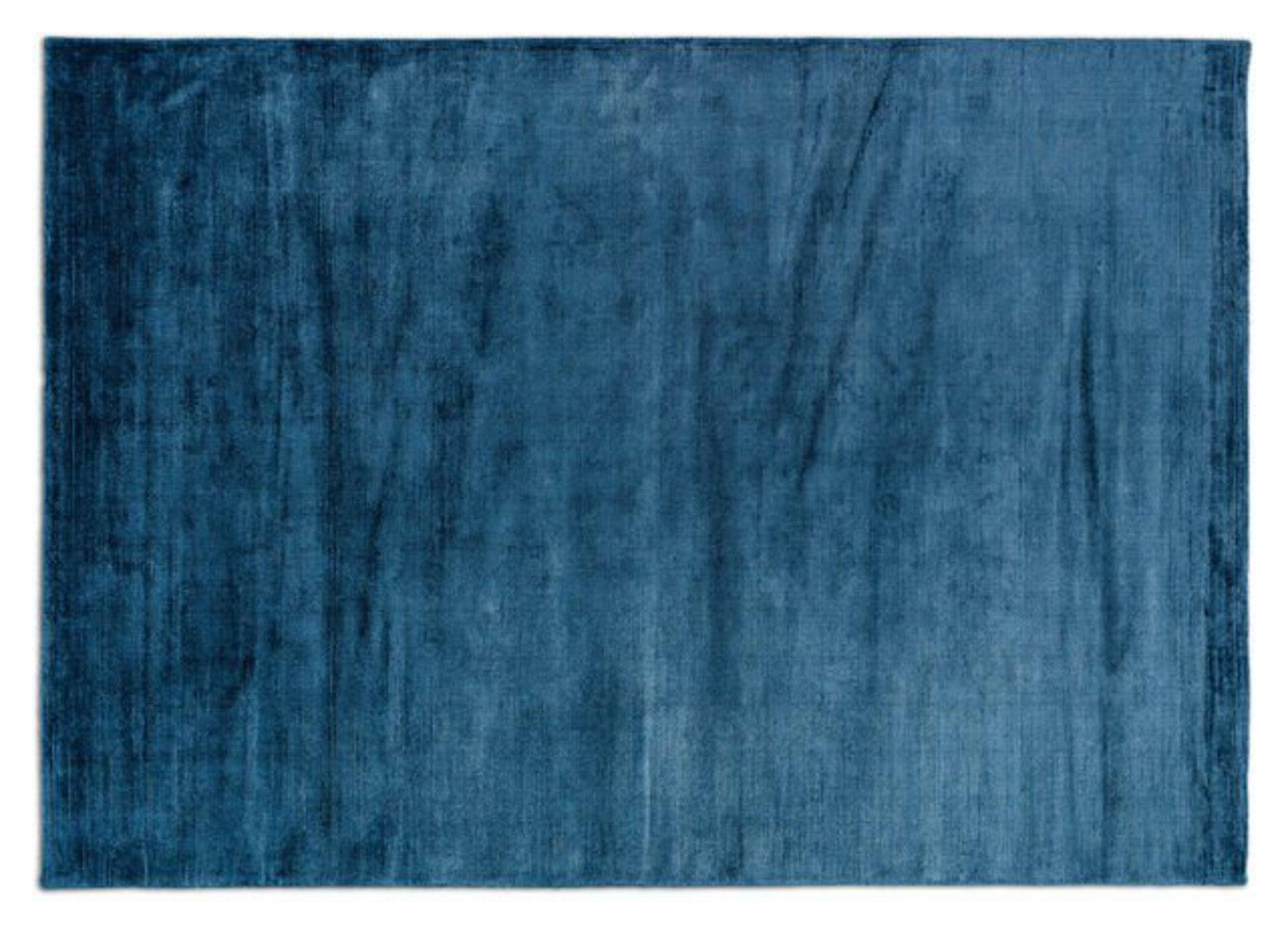 Maschinenwebteppich Soft Joop! Textil Blau 2 x 2 cm