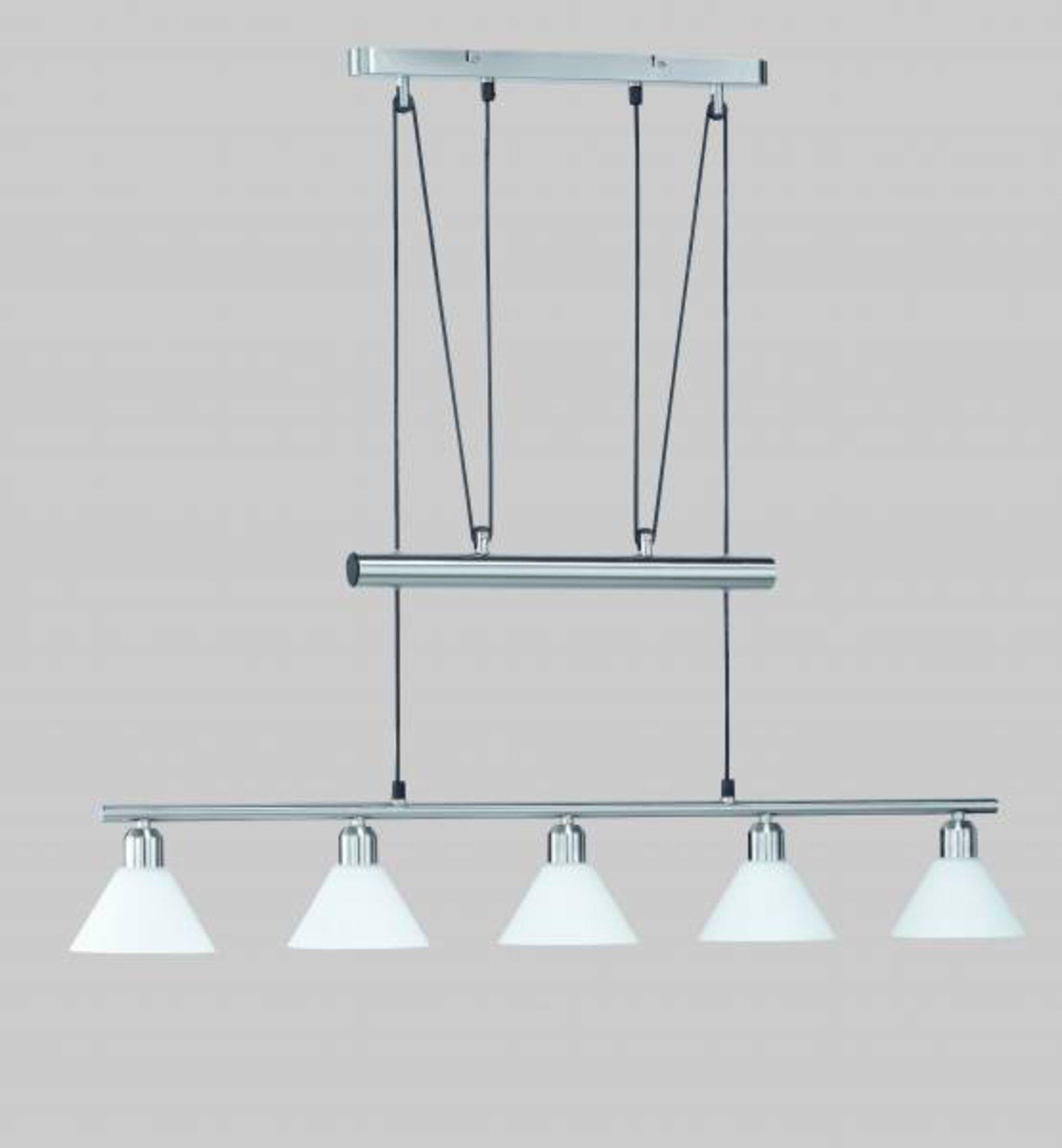 Pendelleuchte Stamina Trio Leuchten Metall silber 100 x