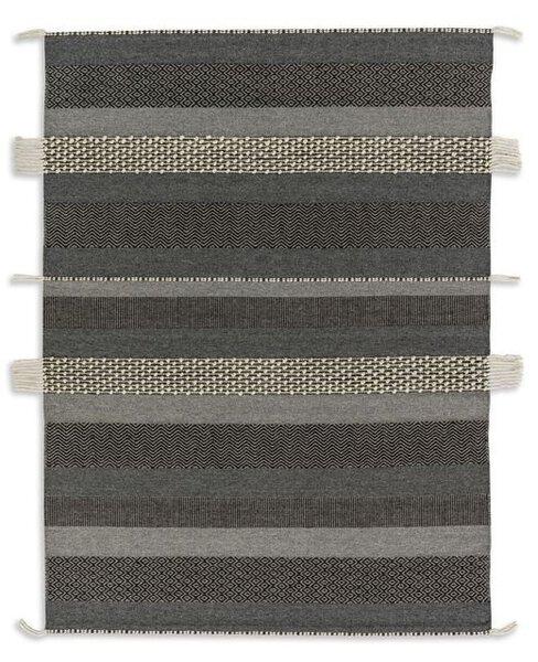 Handwebteppich Schöner Wohnen Textil D192 C040 Streifen