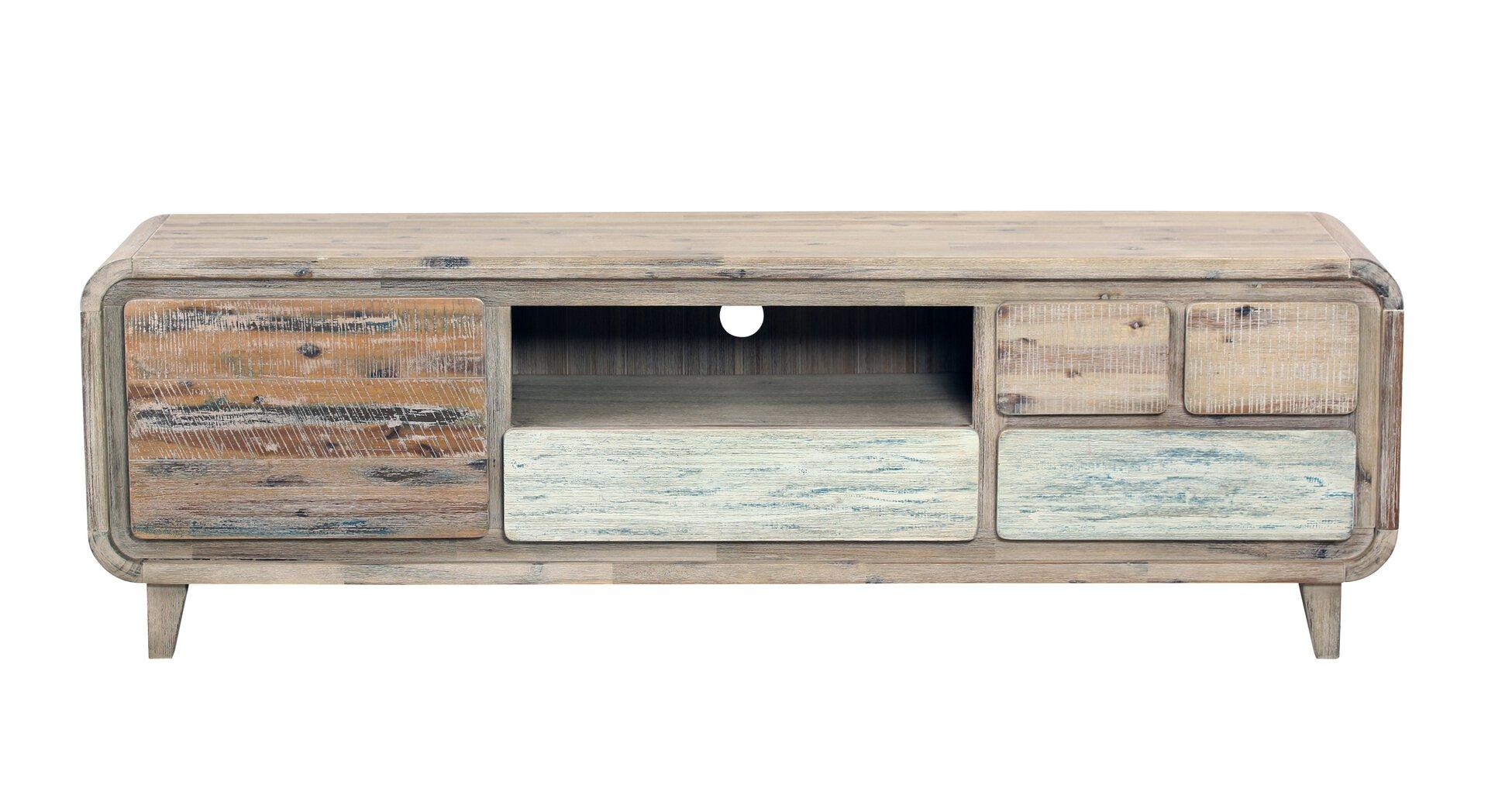 TV-Lowboard CELECT Holz braun 38 x 54 x 170 cm