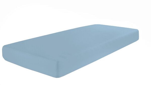 Jersey-Spannbetttuch Pro Night Textil 306 stahlblau