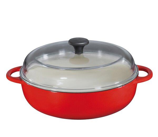 Pfanne Küchenprofi Metall rot