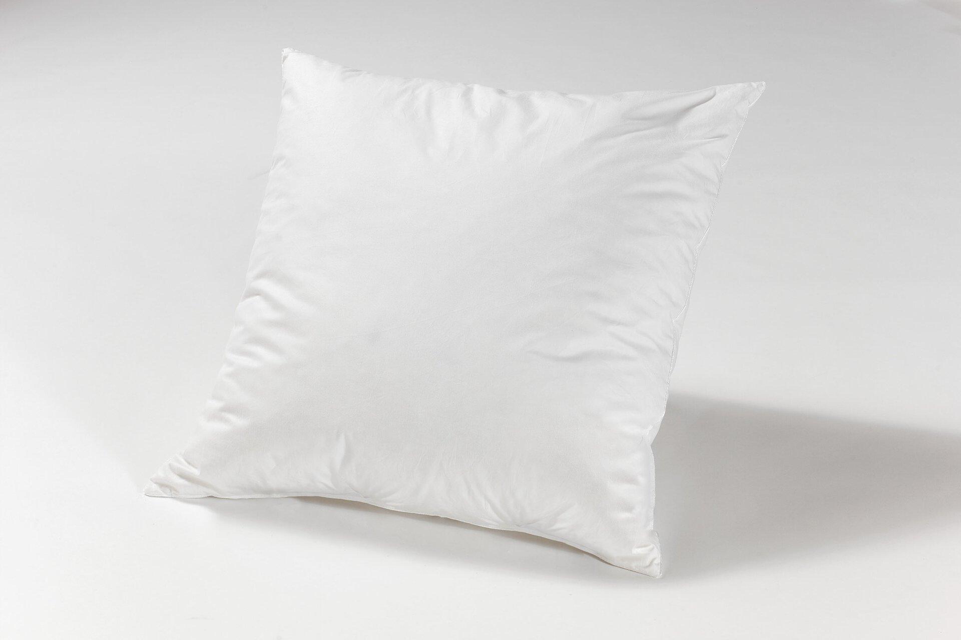 Füllkissen Sanders Textil weiß 40 x 40 cm