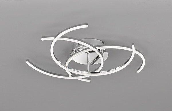 Deckenleuchte Fischer-Honsel  Metall chrom ca. 60 cm x 28 cm x 60 cm