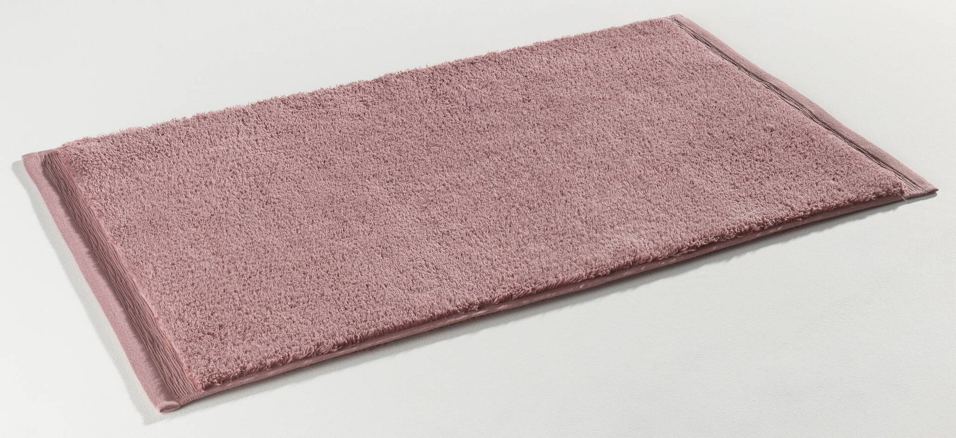 Badteppich Organic Kenborg Textil rosa 50 x 80 cm