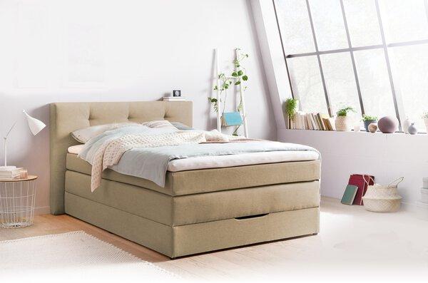 Boxspringbett SELF Textil 50375-620 Beige