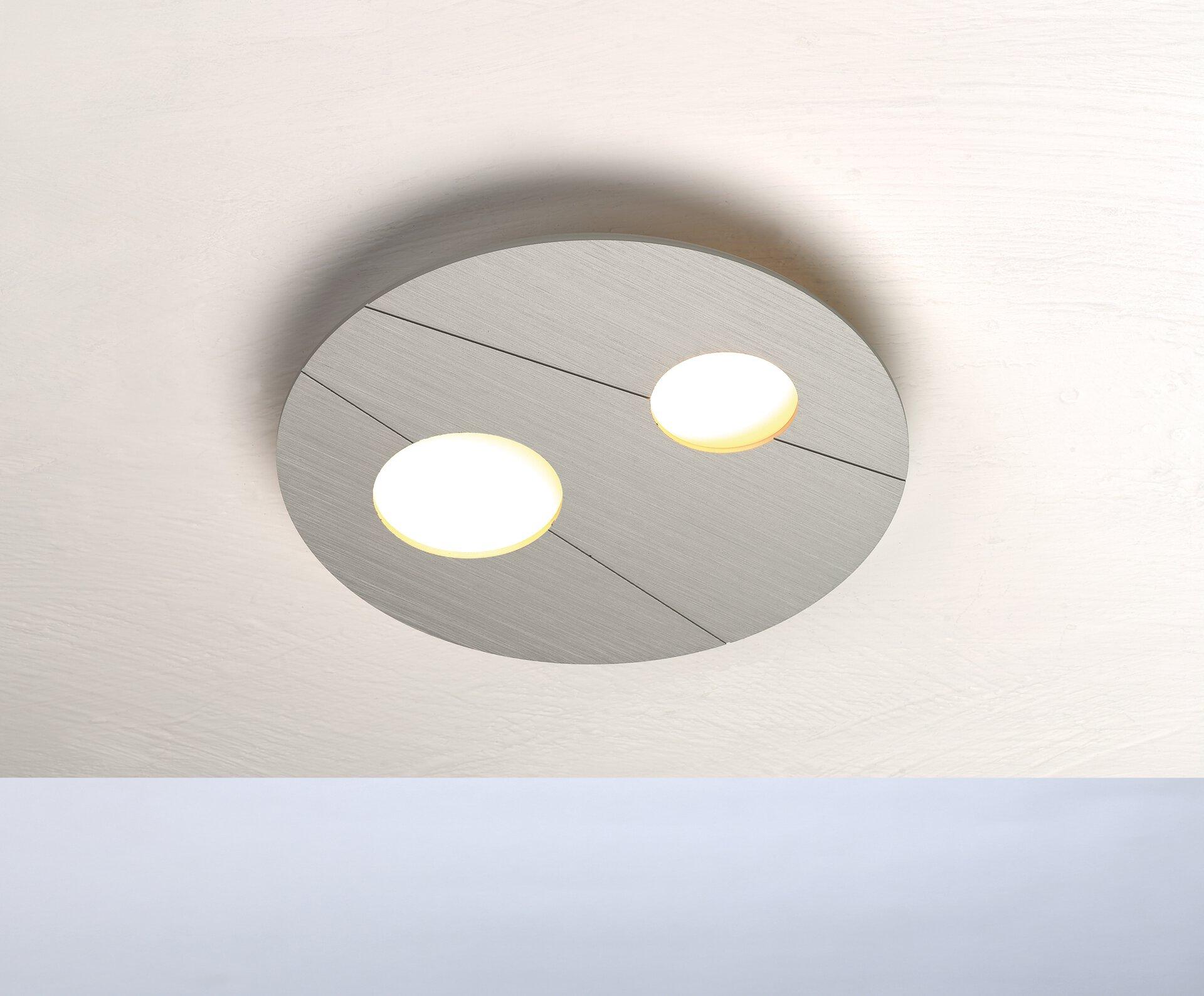 Deckenleuchte GRAFICO Bopp Metall 26 x 3 x 26 cm