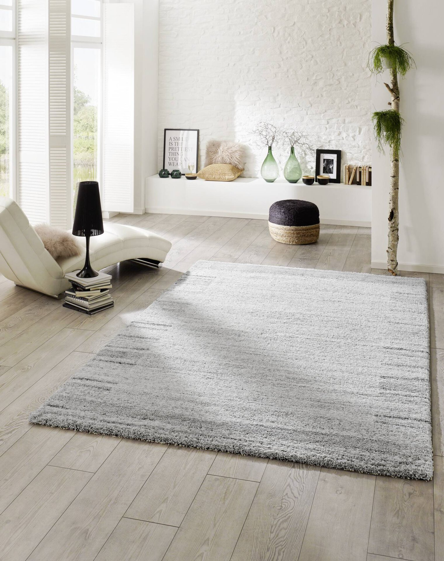Hochflorteppich Super Softness Mc Three Textil beige 2 x 2 cm