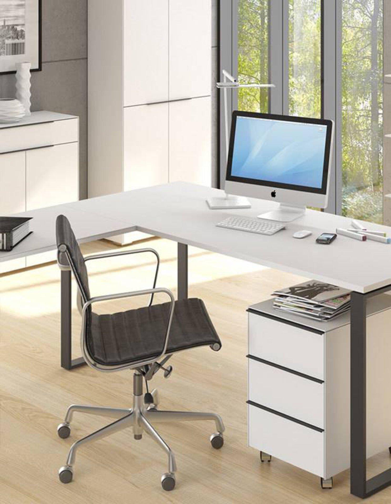 """Milieubild zu """"ergonomische Büromöbel"""" auf der Inspirationsseite."""