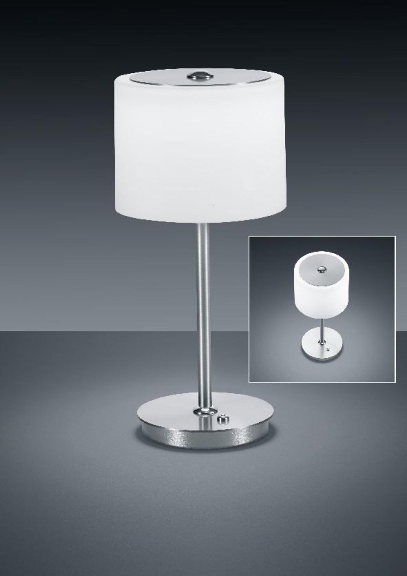 Tischleuchte Grazia Bankamp Metall silber 16 x 35 x 16 cm