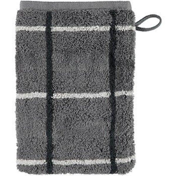 Waschhandschuh Cawö Textil 77 anthrazit