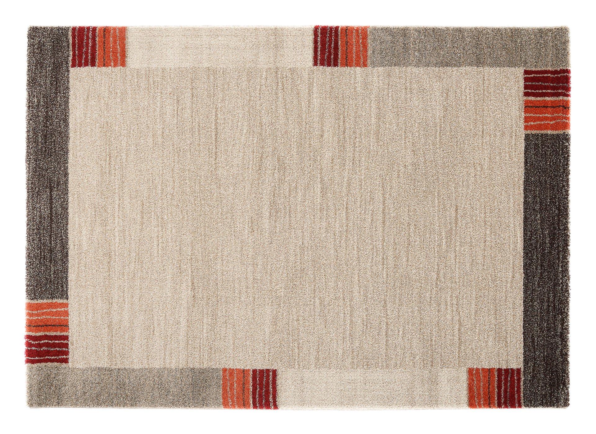 Maschinenwebteppich Castle Flora OCI Textil beige 1 x 2 cm