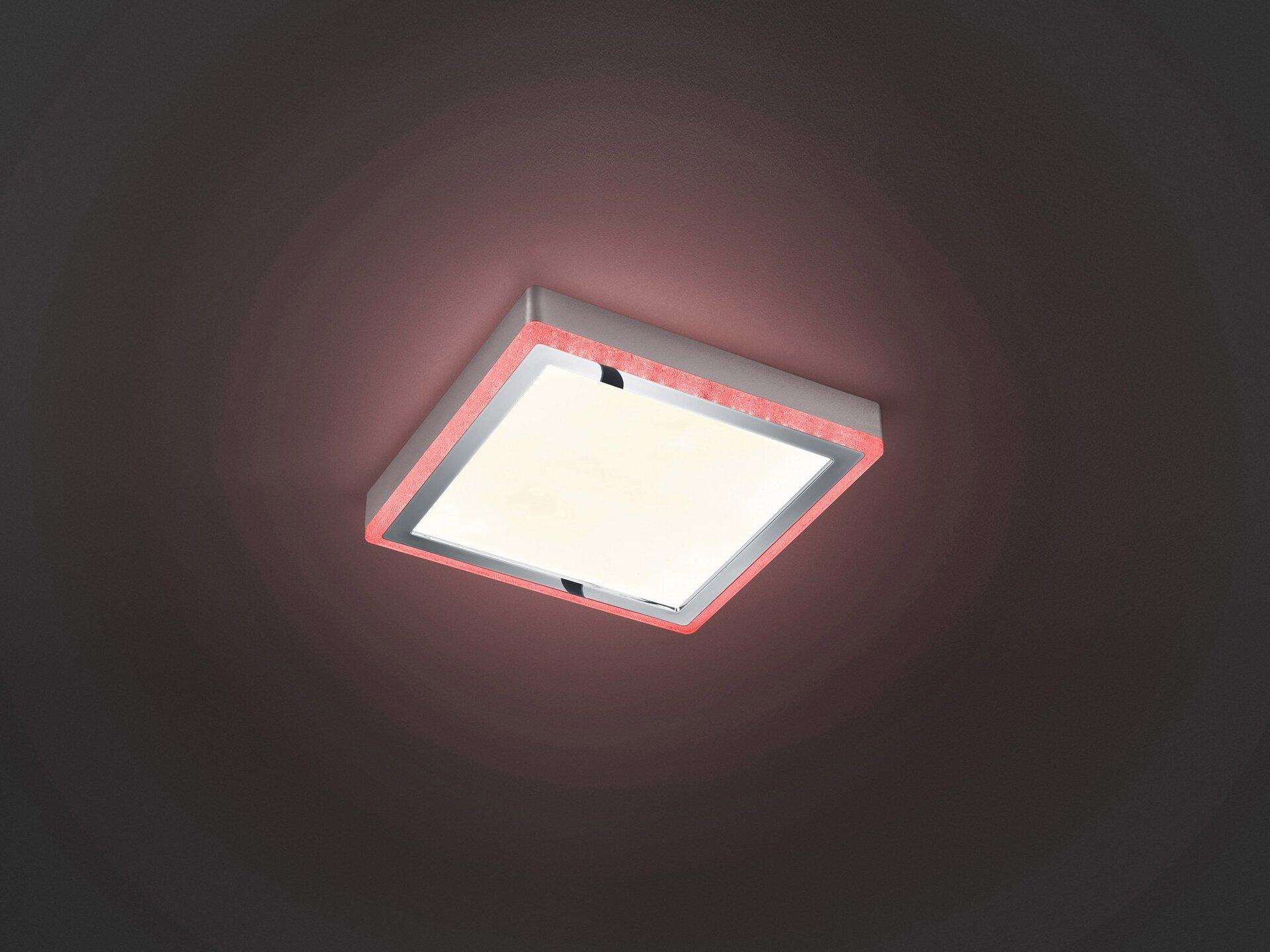 Deckenleuchte Slide Reality Leuchten Kunststoff 25 x 5 x 25 cm