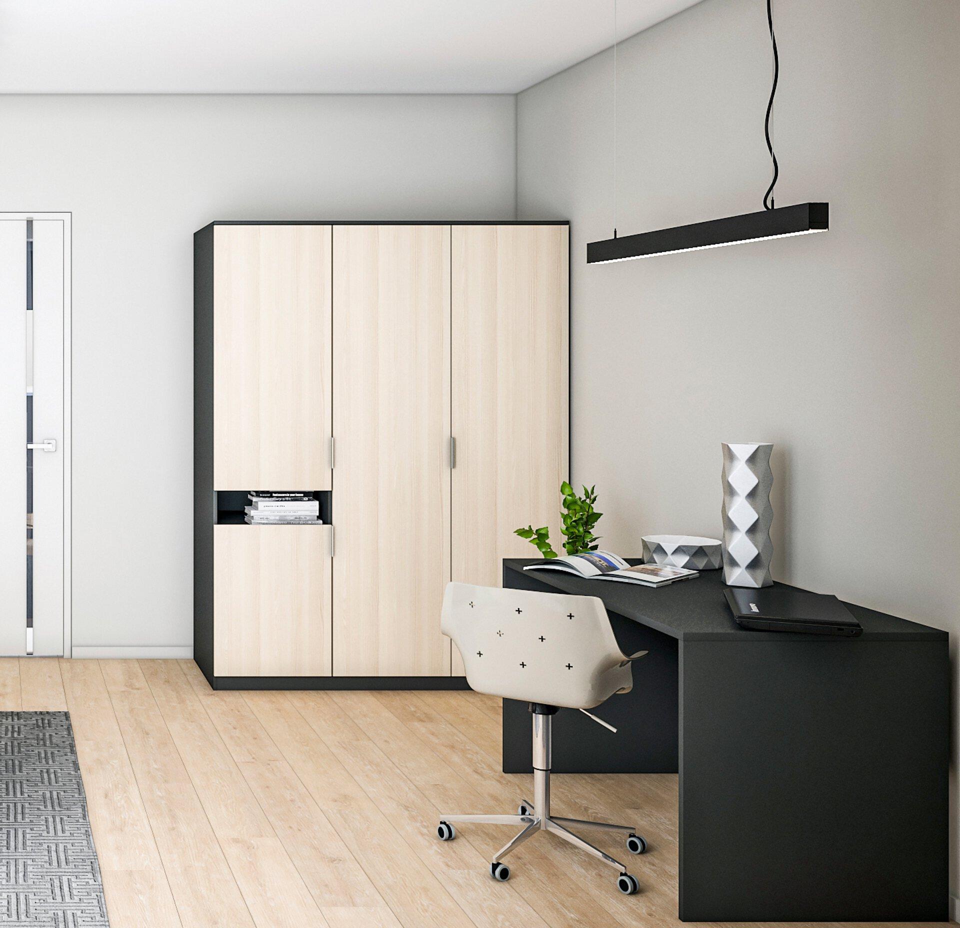 Kleiderschrank WICKIE Nordic Idea Holzwerkstoff