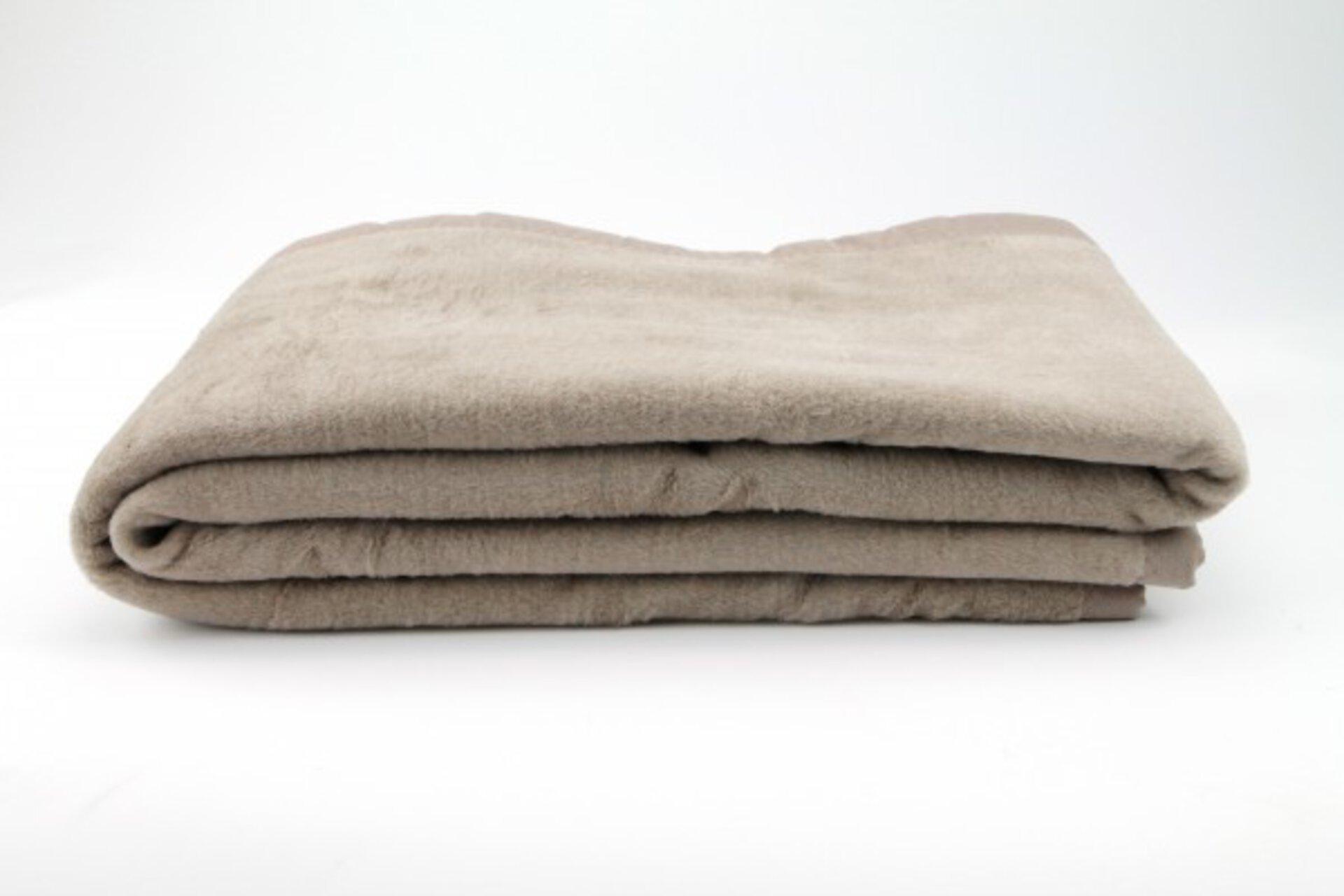 Wohndecke Casa Nova Textil braun 150 x 200 cm