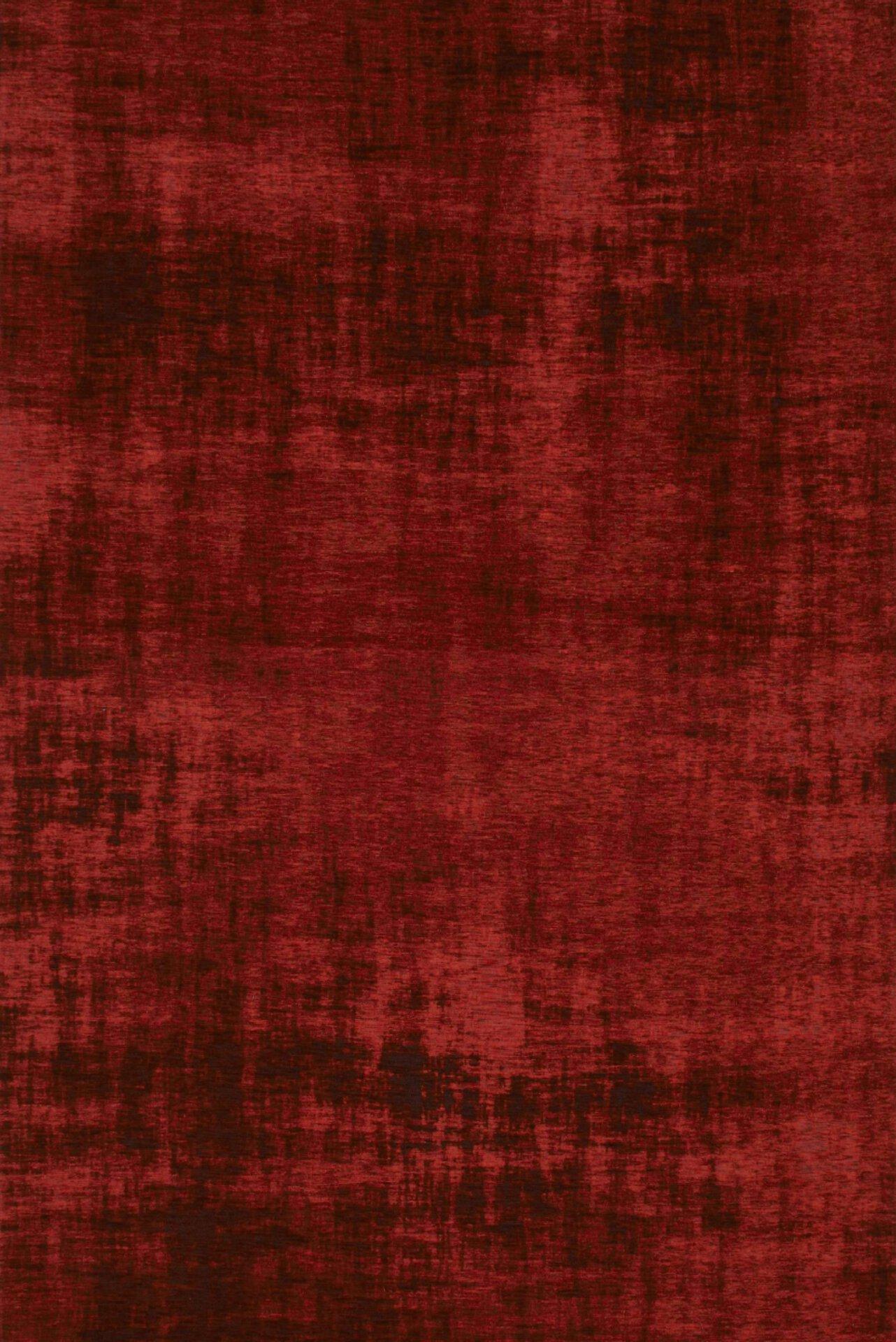 Maschinenwebteppich Saragoza DEKOWE Textil rot 68 x 120 cm