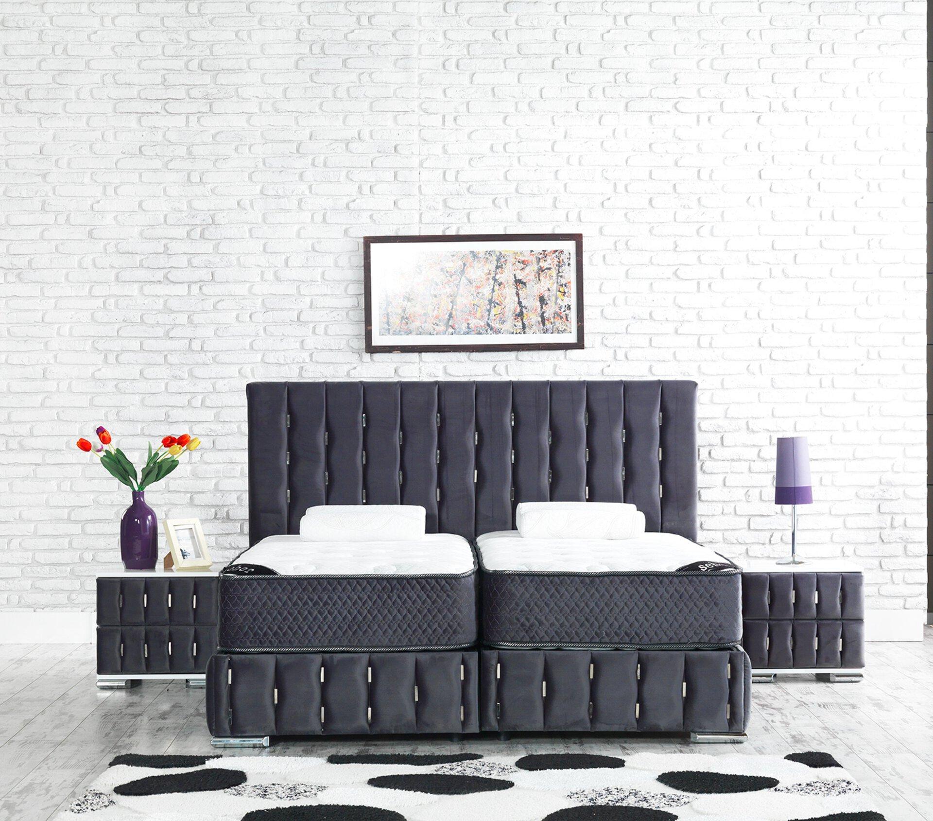 Polsterbett 040.000303 Dreamoro Textil