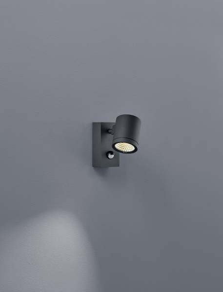 Wand-Aussenleuchte Helestra Leuchten Metall graphit ca. 9 cm x 16 cm x 15 cm