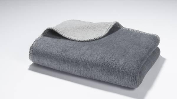 Bettläufer Casa Nova Textil anthrazit/silber