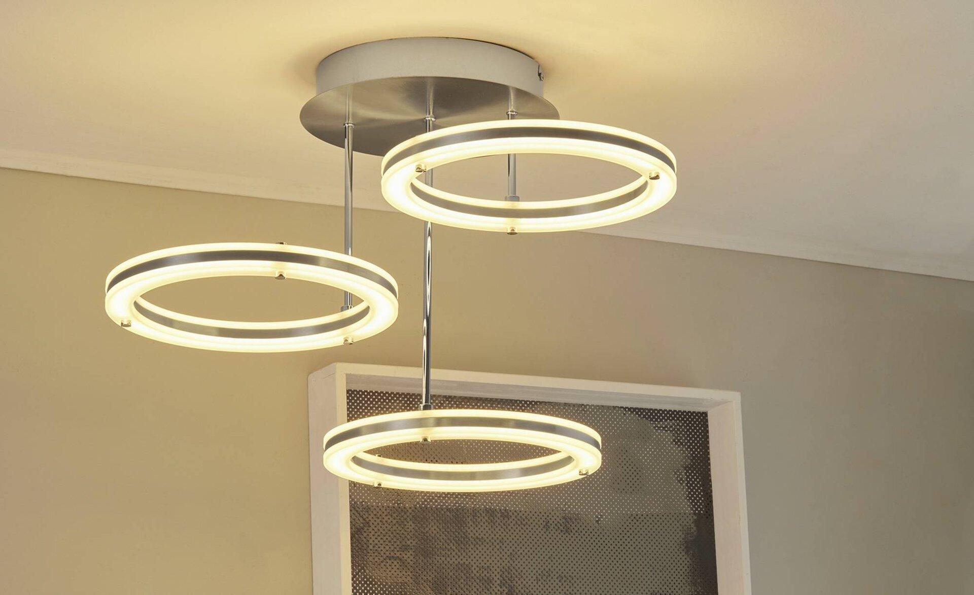 Deckenleuchte Mica B-Leuchten Metall 55 x 37 x 55 cm