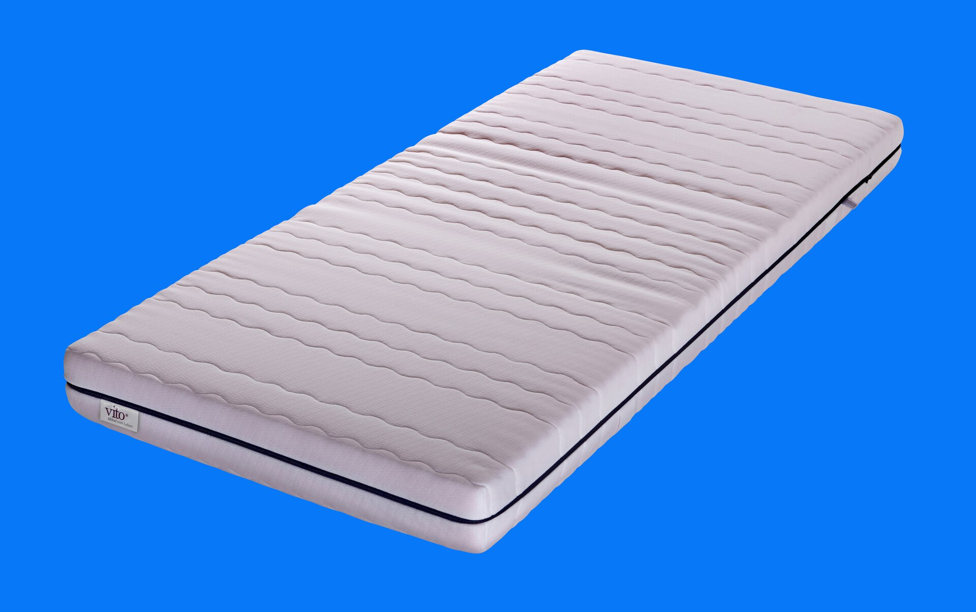Komfortschaummatratze Sensio Prime Vito Textil weiß 90 x 16 x 200 cm
