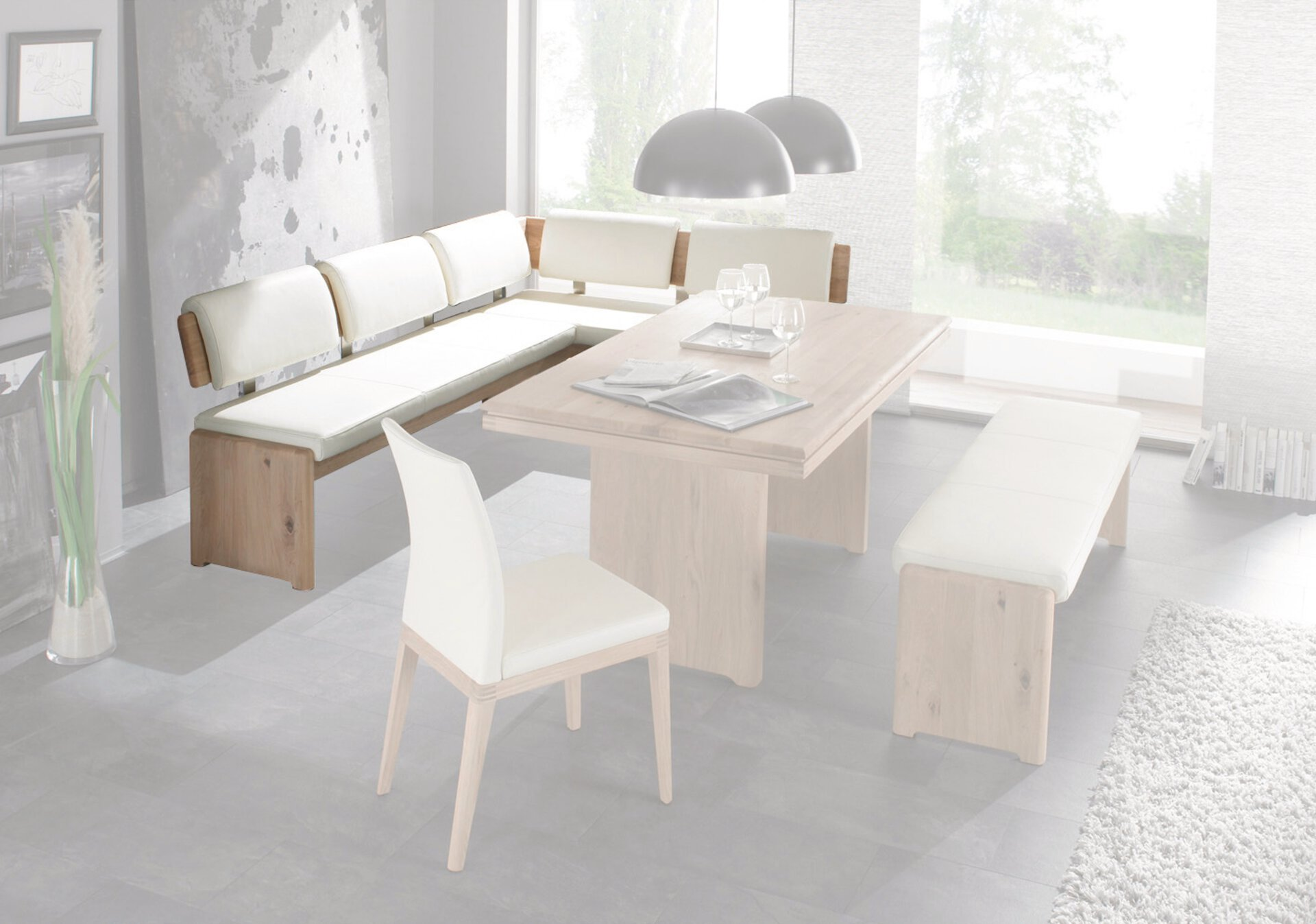 Eckbank COMO SOFT Decker Holzwerkstoff mehrfarbig