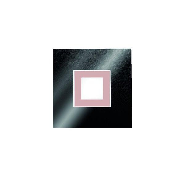 Wandleuchte Grossmann  Metall schwarz ca. 20 cm x 6 cm x 20 cm